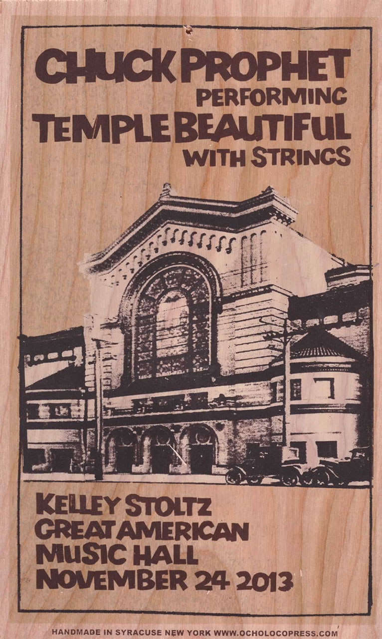 Ocho Loco Wooden Poster -  Temple Beautiful